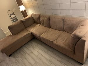 L - Sectional Couch MUST GO ASAP for Sale in Phoenix, AZ