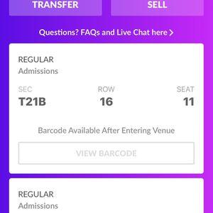 Justin Bieber Tickets for Sale in Redlands, CA