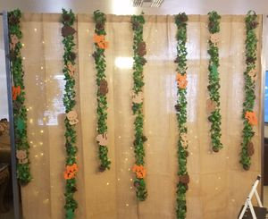 Party backdrops and wood cookies for Sale in Avondale, AZ