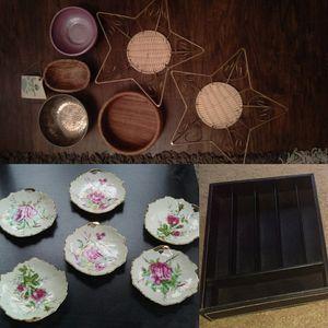 Trinket dishes bowls organizer for Sale in Marietta, GA