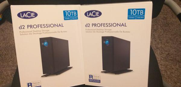 Lacie D2 Professional 10tb Hard Drive