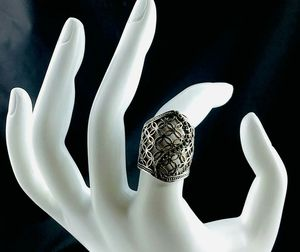 Silver Pave Stone Ring for Sale in Austin, TX
