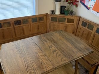 Corner Kitchen Table Nook for Sale in Vancouver,  WA