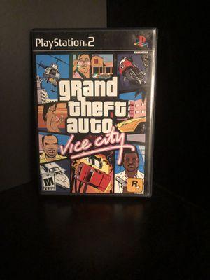 Ps2 GTA: Vice City for Sale in San Antonio, TX