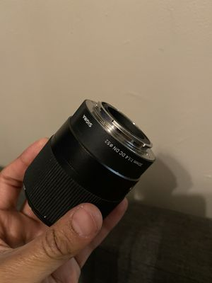 Sigma 30mm lens for EMount Cameras for Sale in New York, NY