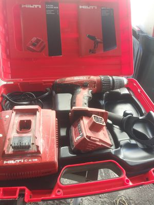 HILTI hammer cordless drill for Sale in Los Angeles, CA