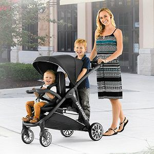 Chicco stroller bravo for 2 ride and stand stroller double stroller retails 299 for Sale in Pflugerville, TX
