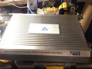 Power Acoustic Amplifier 1000 Watt for Sale in Santa Monica, CA