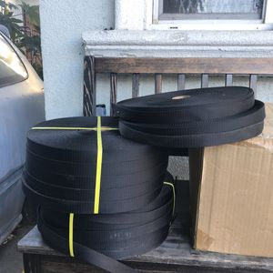 Industrial Webbing . 12 Rollos ..a 10 dólares Cada Uno .. for Sale in Los Angeles, CA