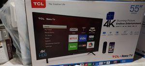 "Tcl 55"" class 4k ultra HD Roku tv for Sale in NJ, US"