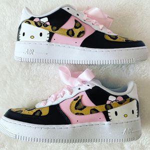 Custom Hello Kitty Air Force 1s for Sale in Selma, CA