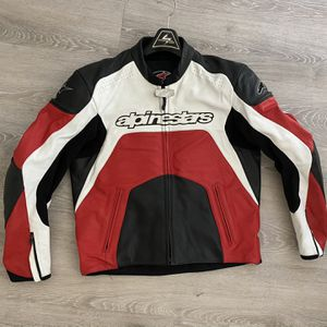 alpinestars jacket leather for Sale in Mountain View, CA