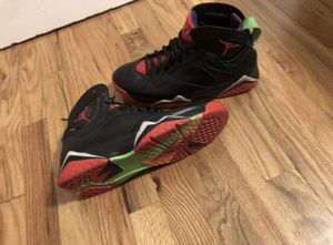 Authentic Air Jordan Retro 7 Marvin the Martian Men size 11 for Sale in Manchester, CT