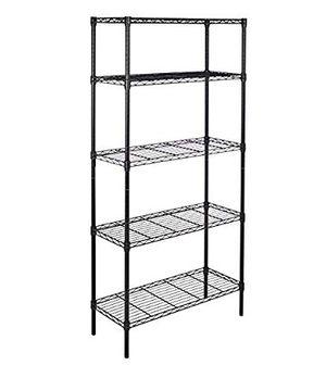 Amazon Basics Black Metal Shelves for Sale in Walnut Creek, CA