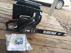 Brand new 18 inch black max chainsaw for Sale in Mocksville, NC