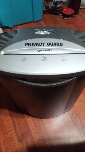Paper Shredder Privacy Guard for Sale in Vardaman, MS