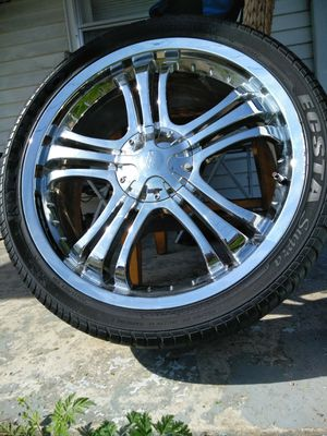 20 inch, universal rims for Sale in Nashville, TN