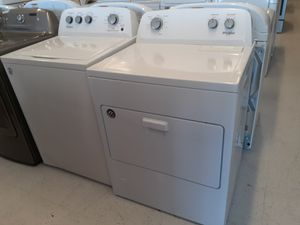 Whirlpool tap load washer and gas dryer set new 6 month's warranty for Sale in Mount Rainier, MD