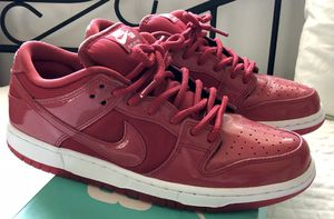 """Nike SB Dunk Low Air Jordan 11 (Red/ White) - """"Ruby Red"""" aka """"Red Space Jam"""" for Sale in Miami, FL"""