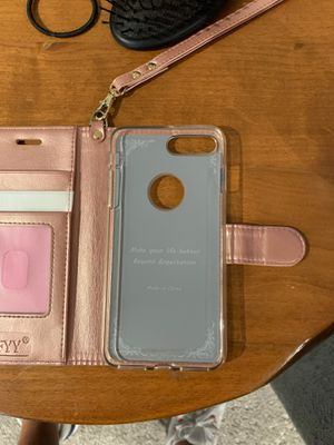 iPhone 8 Plus phone wallet for Sale in Anaheim, CA