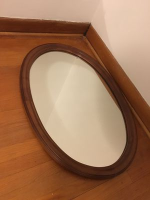 Oval mirror for Sale in Hinsdale, IL