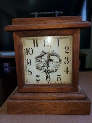 Antique Solid Koa Wood Clock. Est. 1985 for Sale in Pearl City, HI