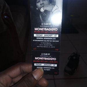Moneybagg Yo Ticket for Sale in Fort Pierce, FL