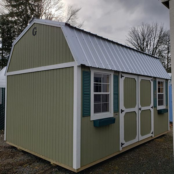 Shed Gal Graceland Portable Buildings Side Lofted Barn for ...