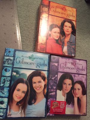 WB Gilmore girls season 1-3 dvd Lot set (3sealed) for Sale in Cooper City, FL