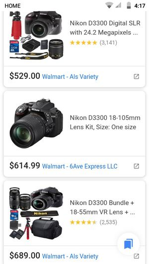 NIKON-(D3300) DIGITAL CAMERA for Sale in Riverside, CA