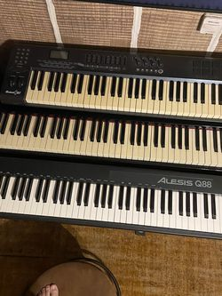 Numa Nero, Q88, And Axiom 61 Keyboard / MIDI Contollers for Sale in Rancho Palos Verdes,  CA