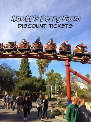 Discounted Knotts Berry Farm Tickets for Sale in West Covina, CA
