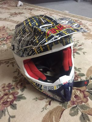 Dirt bike motor cycle helmet size medium for Sale in Rockville, MD