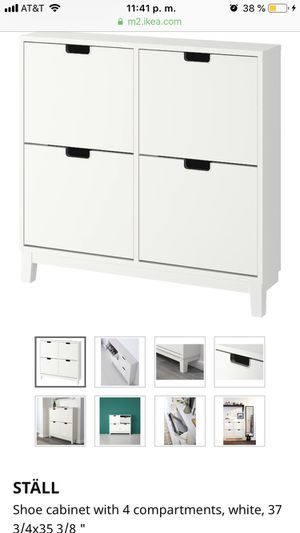 IKEA shoe cabinet for Sale in Edgewood, WA