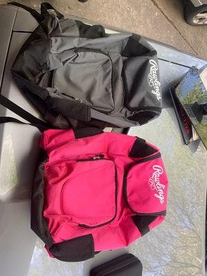 Rawlings his and hers softball backpack for Sale in Austin, TX