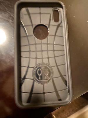 iPhone X, iPhone XS, Spigen Rubber case for Sale in Phoenix, AZ