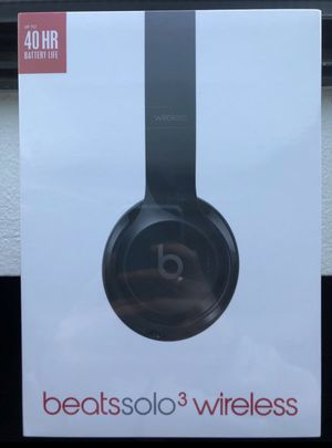 Beats Solo 3 Wireless (BRAND NEW) for Sale in Monroe, WA