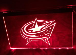 Blue Jackets 3D LED Neon Light Sign Wall Decor for Sale in Akron, OH