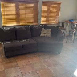 Dark Grey Sectional Couch for Sale in Aurora,  CO