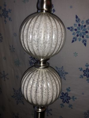 Silver Glass Lamp for Sale in Marietta, GA