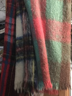 Wool blanket throw for Sale in Cleveland Heights, OH