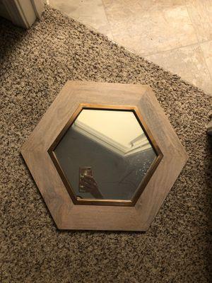 Hexagon accent mirror for Sale in Hilliard, OH