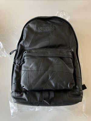 Supreme F/W19 leather patchwork backpack for Sale in Avondale, AZ