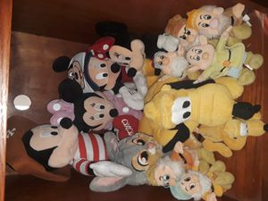 Disney plushies for Sale in Menifee, CA