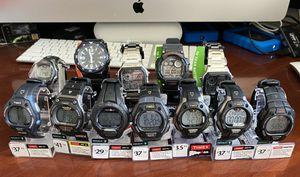 Watches Ironman, Casio, etc HALF PRICE for Sale in O'Fallon, IL