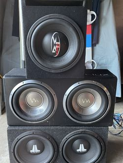 Subs And Amps Package for Sale in San Carlos,  CA