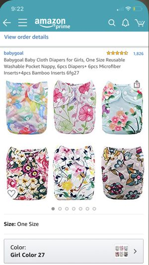 NEW Babygoal Diapers and Inserts for Sale in Perris, CA