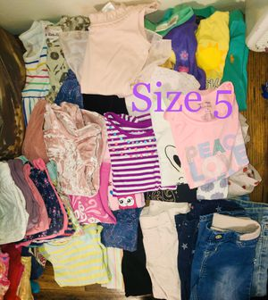 5T toddler girl clothing bundle for Sale in Dallas, TX