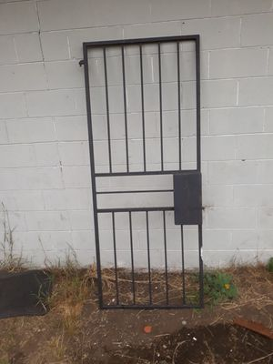 Heavy duty welded metal door gate for Sale in Joint Base Lewis-McChord, WA