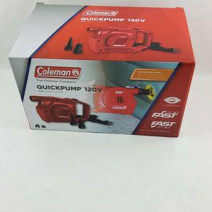 Coleman 120 Volt Electric Handheld Pump for Sale in Stonecrest, GA